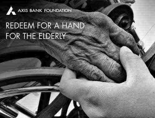 A hand for the elderly Rs. 250