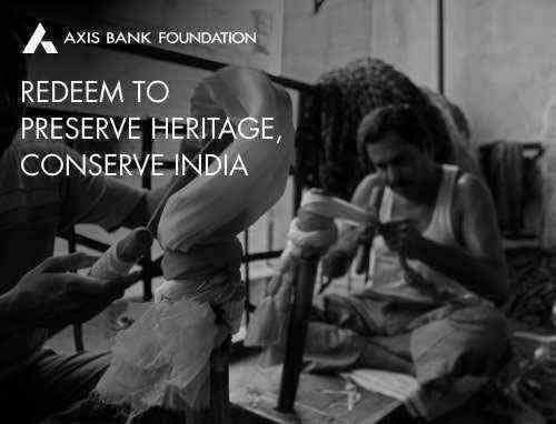 Preserve Heritage - Conserve India Rs. 1500