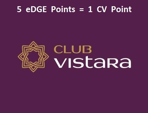 CLUB VISTARA POINTS