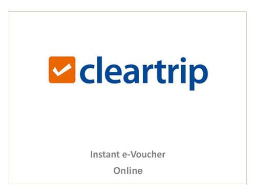 Cleartrip Rs. 2000