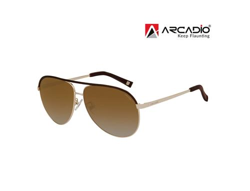 Arcadio Two Tone Aviator Sunglass