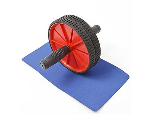 Fitness Dual Wheel Ab Wheel