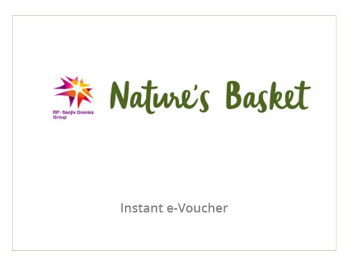 Nature's Basket Rs. 1000
