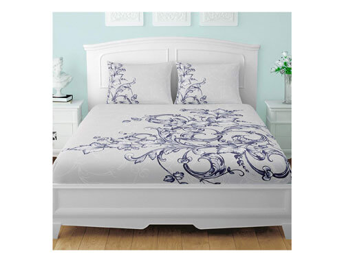 Spaces Occasions Infinity Large Bedsheet Set