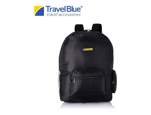 Travel Blue Black  Backpack
