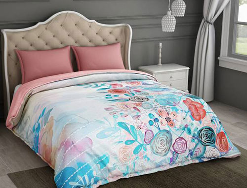 Spaces Essentials Calli Art Double Comforter