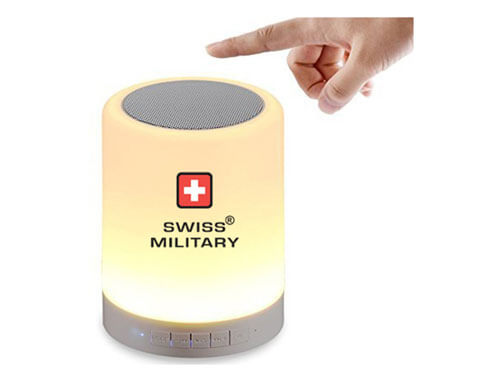 Swiss Military 6-in-1 Smart Touch Lamp with Bluetooth Speaker
