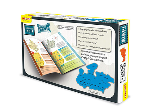 Zephyr Discover India Puzzle`
